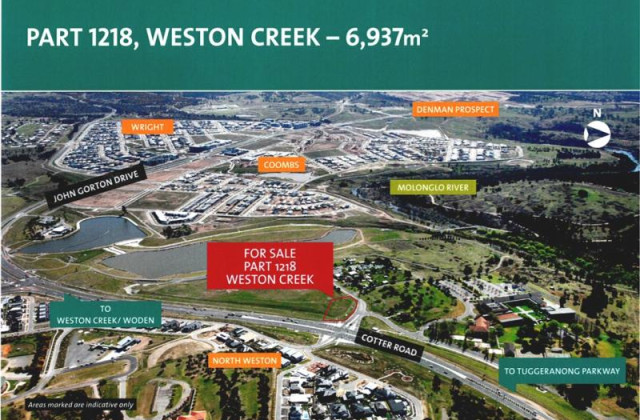 Part 1218 Cotter Road, WESTON ACT, 2611