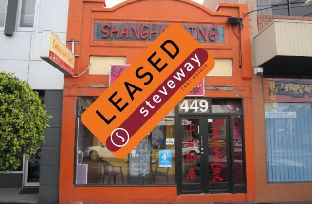 449 Lygon Street, BRUNSWICK EAST VIC, 3057