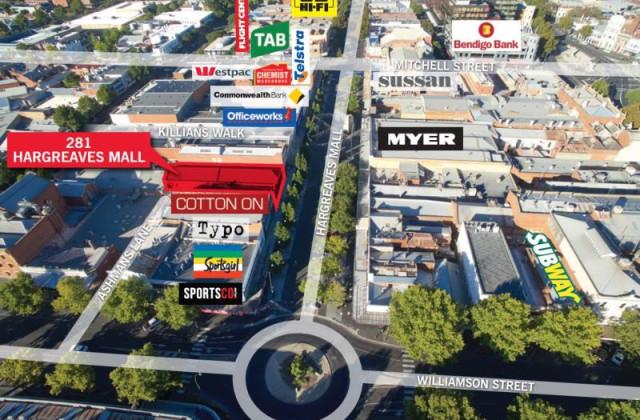 281 Hargreaves Mall, BENDIGO VIC, 3550