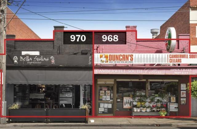 968 & 970 Toorak Road, CAMBERWELL VIC, 3124
