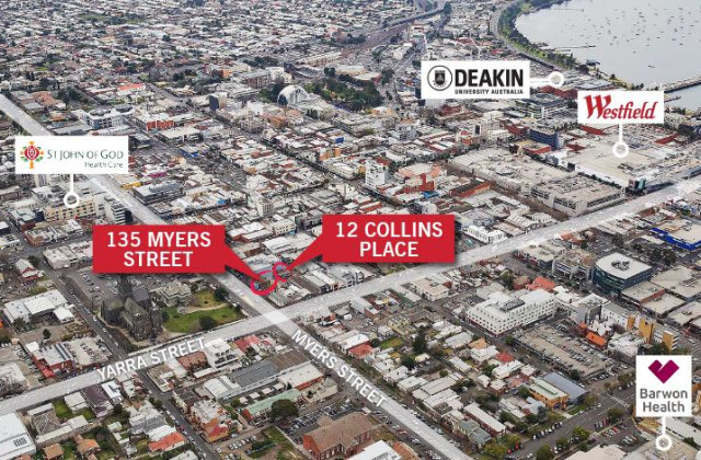 135 Myers Street & 12 Collins Place, GEELONG VIC, 3220
