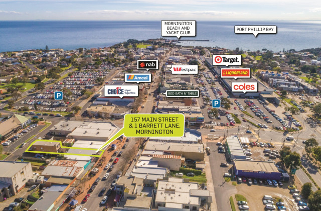 157 Main Street and 1 Barrett Lane, MORNINGTON VIC, 3931