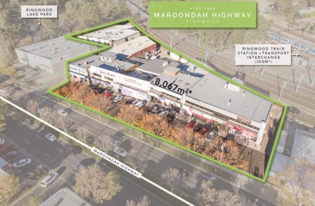 154-166 Maroondah Highway, RINGWOOD VIC, 3134