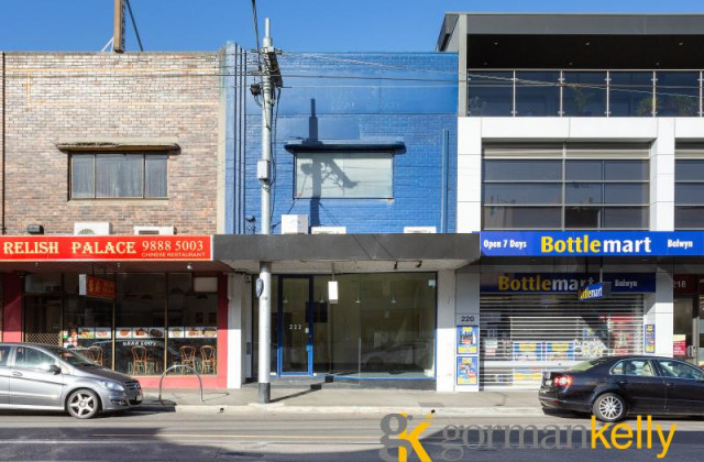 Whole Building/222 Whitehorse Road, BALWYN VIC, 3103