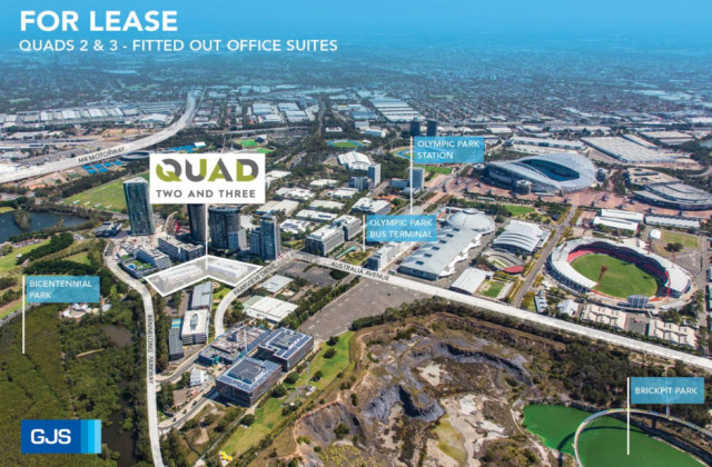 Quads 2 + 3 - Fitted out/6 Parkview Drive, SYDNEY OLYMPIC PARK NSW, 2127