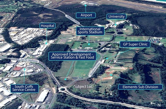 Lot 2 Stadium Drive, COFFS HARBOUR NSW, 2450