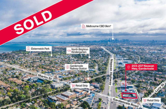 203-207 Nepean Highway, GARDENVALE VIC, 3185