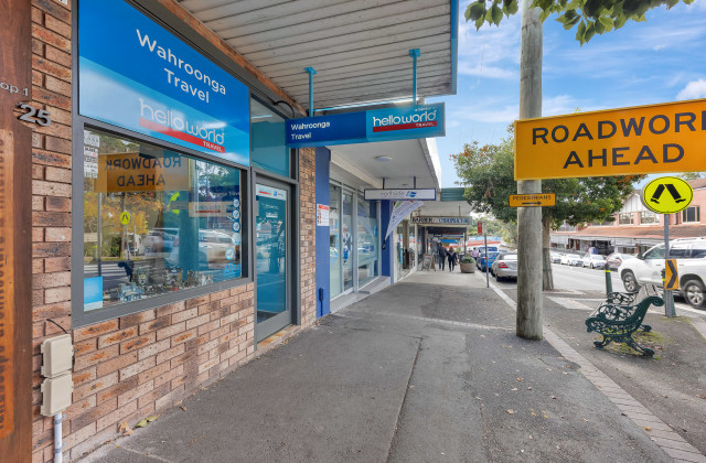 Shop 2/25 Redleaf Avenue, WAHROONGA NSW, 2076